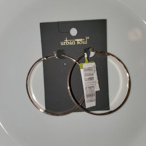 Urban Soul Hoop Earrings